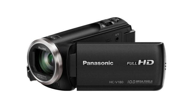 Panasonic HC-V180EP-K to niedroga kamera cyfrowa z Full HD