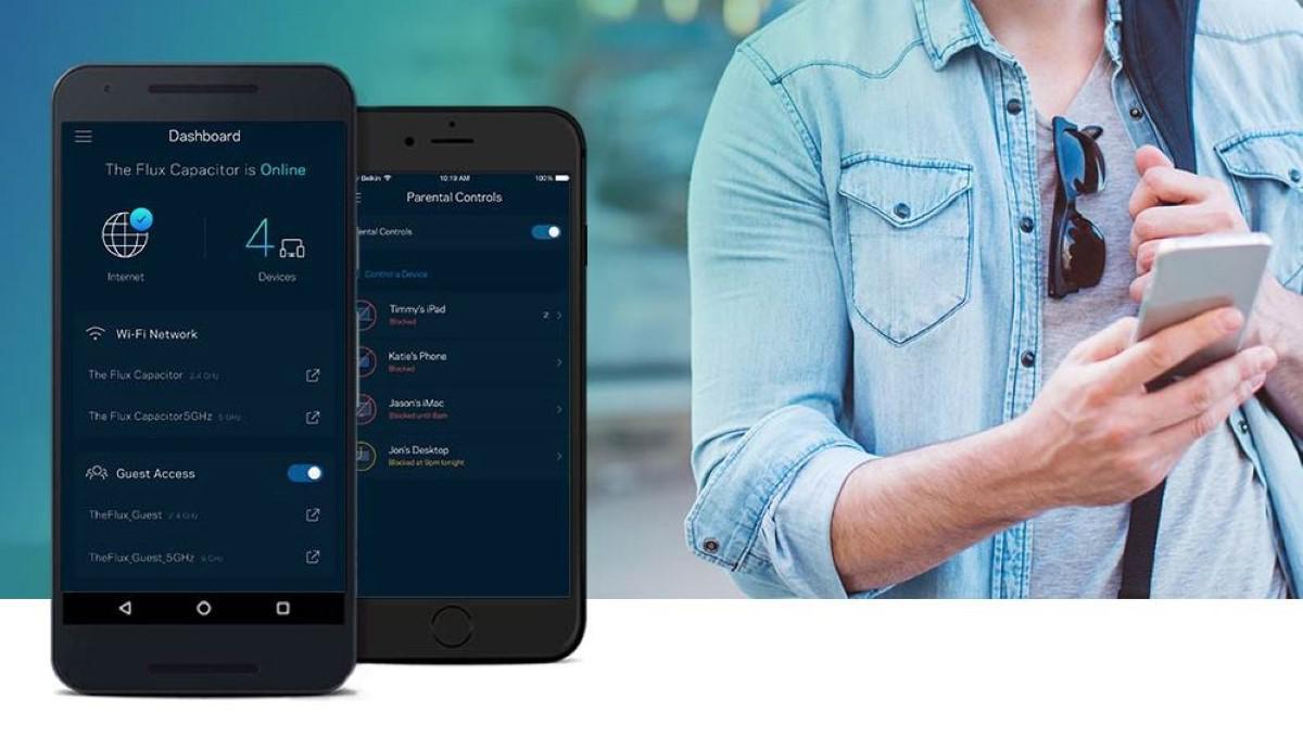 Aplikacja Linksys do zarządzania routerem
