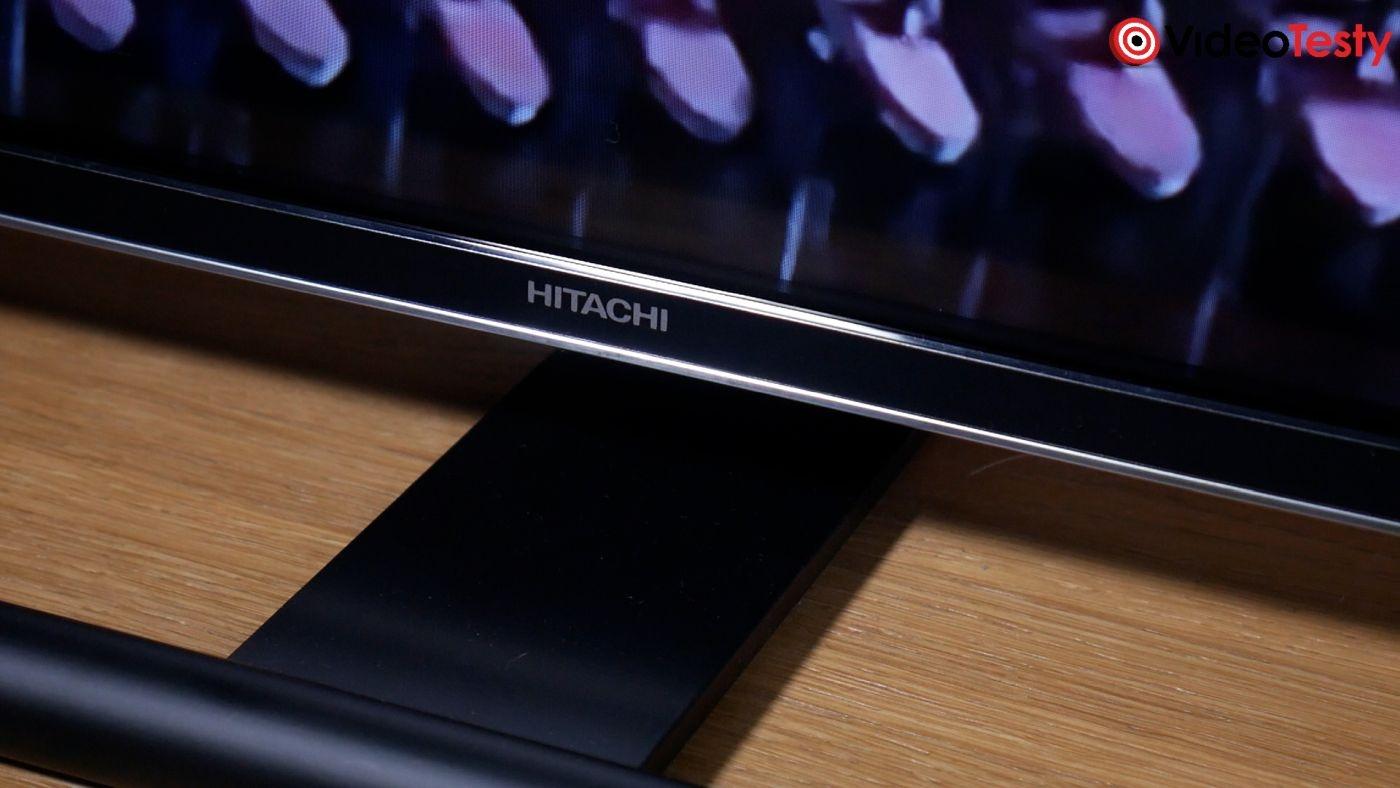 Hitachi 55HAL7250 dolna ramka telewizora z logo