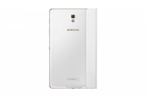 "Samsung Etui w formie ""book cover"" tylko na przód / Simple cover do GALAXY Tab S 8.4 AMOLED / Klimt (T700/T705) - białe"