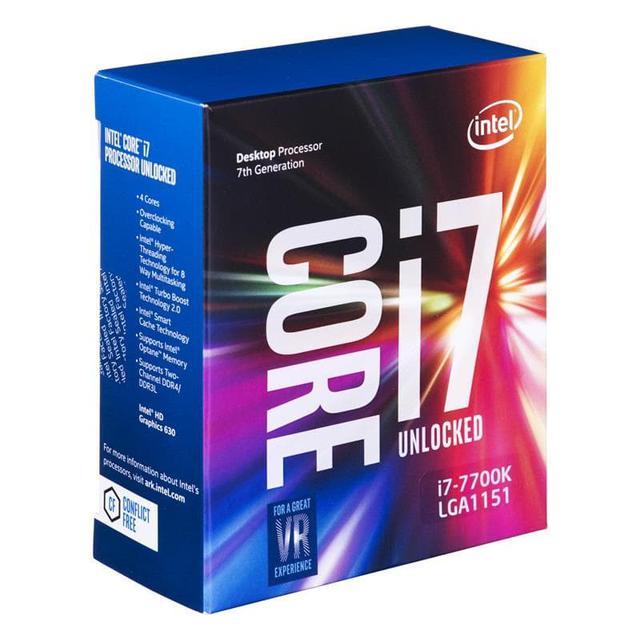 Intel Core i7-7700K 4,2-4,5Ghz