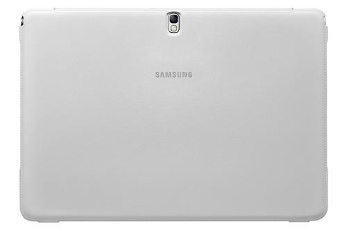 """Samsung Etui w formie """"book cover moschino"""" do GALAXY Note Pro 12.2 / Vienna (P900/P905) - białe w czerwone serca"""