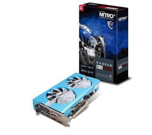 Sapphire RADEON RX 580 NITRO+ Special Edition, 8GB GDDR5 (256 Bit),