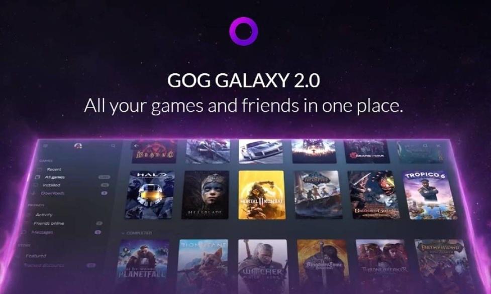 GOG Galaxy 2.0 rozpoczyna oficjalne partnerstwo z Epic Games!