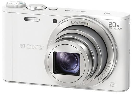 prezent dla mamy na święta - aparat cyfrowy Sony Cyber-shot DSC-WX350