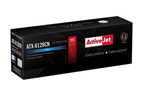 ActiveJet ATX-6128CN cyan toner do drukarki laserowej Xerox (zamiennik 106R01456) Supreme