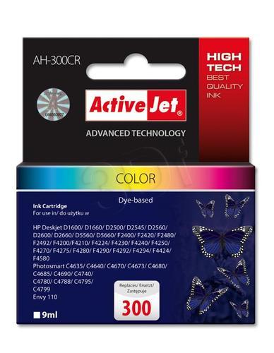 ActiveJet AH-300CR tusz trójkolorowy do drukarki HP (zamiennik HP 300 CC643EE) Premium
