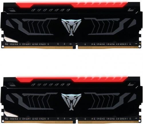 Patriot VIPER LED DDR4 2x8GB, 2400MHz, CL14, czerwony (PVLR416G240C4K)