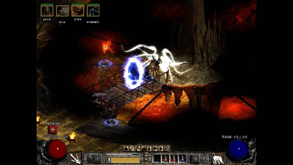 Diablo II: Resurrected - Tak kiedyś wyglądało to miejsce