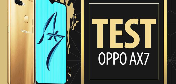 Test Oppo AX7