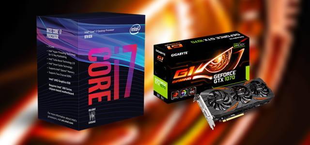 Intel Core i7+GTX 1070