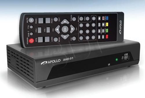 Apollo AHD-91 Dekoder DVB-T i odtwarzacz FHD