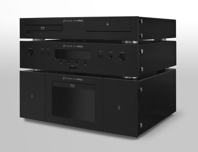 DUNE HD Pro - multimedialny kombajn z 7-calowym wyświetlaczem dotykowym
