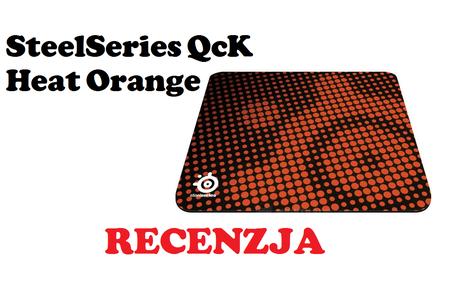 SteelSeries QcK Heat Orange [RECENZJA]