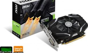 MSI GeForce GTX 1050 2G OC 2GB GDDR5 (128 Bit) HDMI, DVI-D, DP, BOX