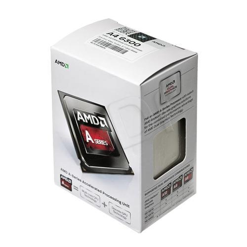 AMD APU A4 6300 3700MHz FM2 Box