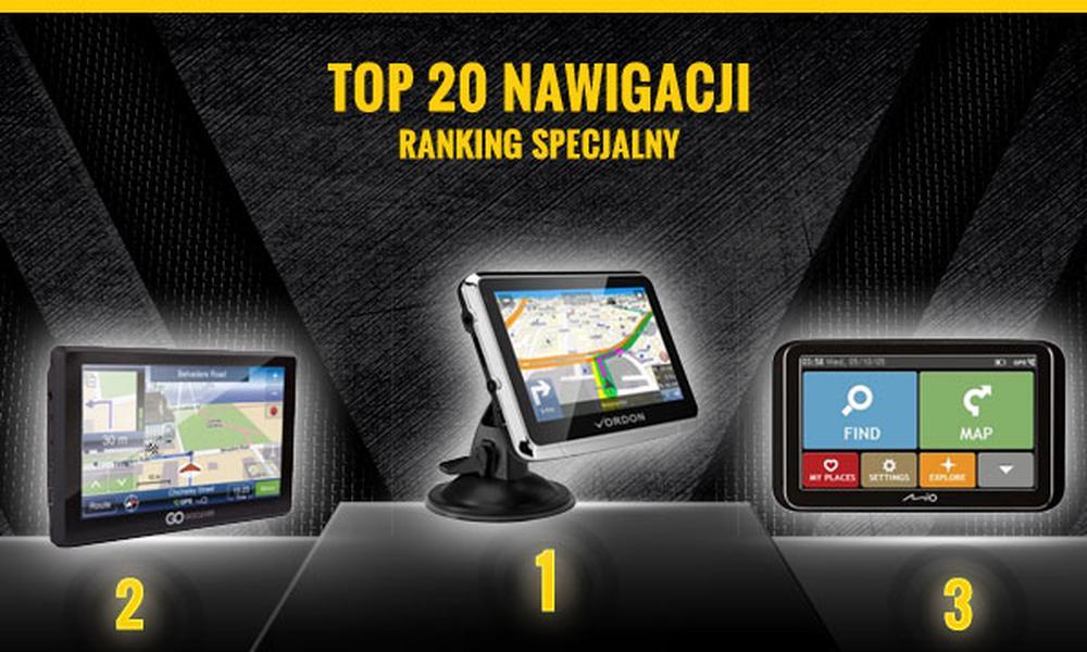 Ranking Polecanych Nawigacji GPS - TOP 20 Najpopularniejszych Modeli!