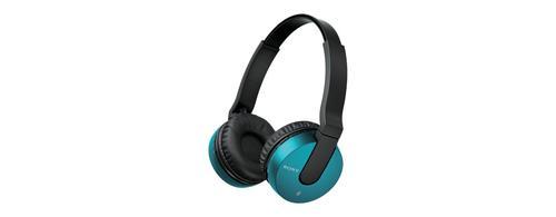 Sony Słuchawki bezprzewodowe MDR-ZX550BN niebieskie