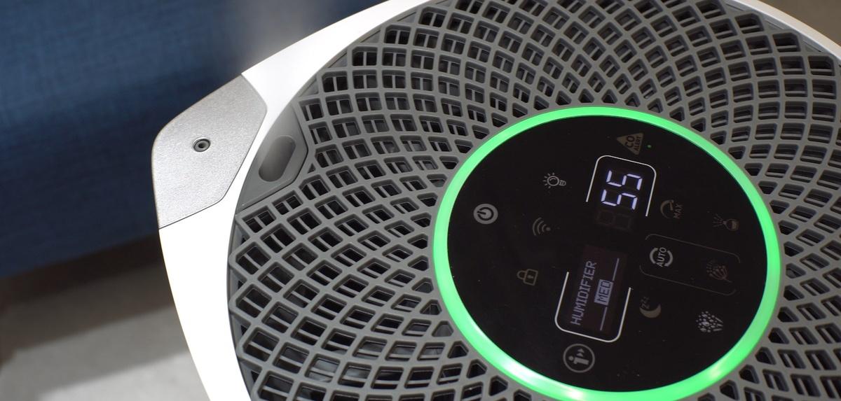 Nawilżanie powietrza ustalimy w trzech poziomach intensywności