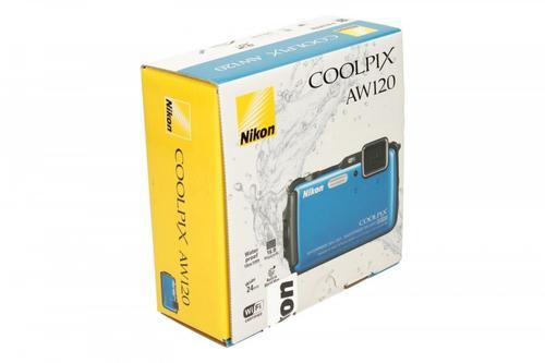 Nikon Coolpix AW120 niebieski