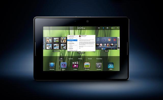 BlackBerry PlayBook - prezentacja