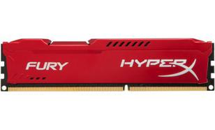 Kingston HyperX FURY Red DDR3 DIMM 8GB 1600MHz (1x8GB) HX316C10FR/8