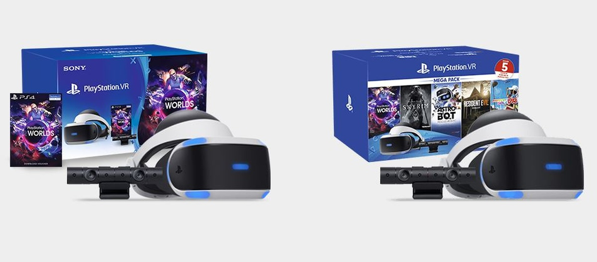 Zestawy PS VR