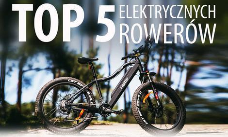 TOP 5 Elektrycznych rowerów miejskich