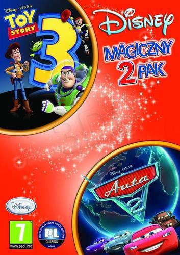 2-pak Toy Story 3 + Auta 2
