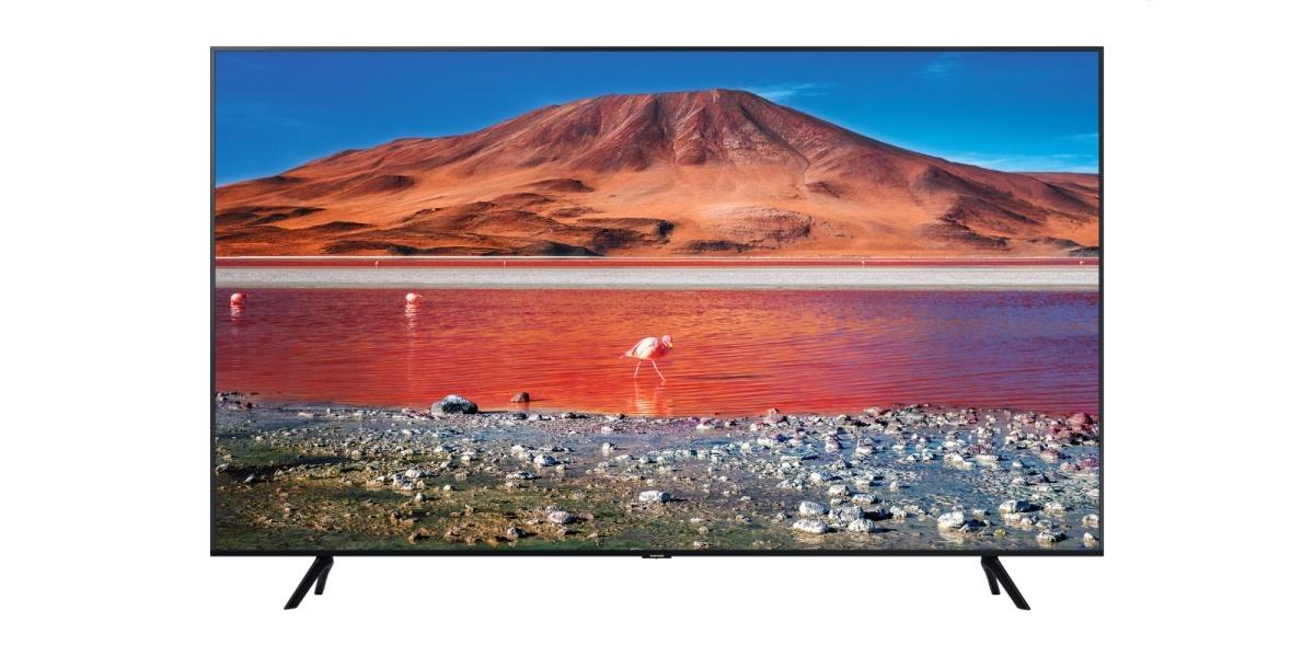 Telewizor Samsung UE65TU7002K to stylowe rozwiązanie do salonu