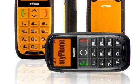 myPhone 5300 FORTE - duże klawisze i czytelny wyświetlacz w obudowie RAMBO