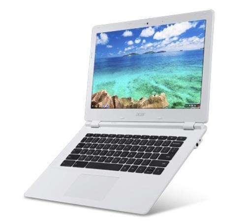 """Acer Chromebook CB5-311P-T3HY 13.3""""Touch/Tegra K1 570M/UMA/4GB/32GB/802.11ac+BT/HDMI/USB3.0/SD reader/Cam/Chrome OS/white"""