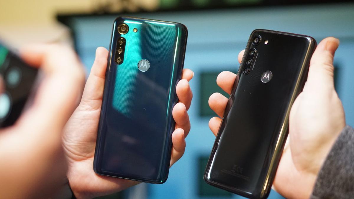 Motorola Moto G8 Power ma charakterystyczny wzór