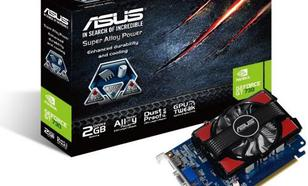 Asus GeForce GT 730 2GB DDR3 (128 bit) HDMI, D-Sub, DVI-D, BOX (GT730-2GD3)ASUS GT 730