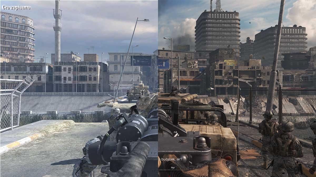 Call of Duty Modern Warfare 2 Campaign Remastered - Porównanie graficzne