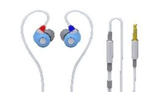 SoundMAGIC E30 Blue Sluchawki Dokanalowe