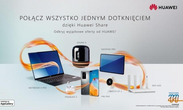 Together 2020 - Premiera nowego głośnika Huawei Sound X oraz kampania marketingowa