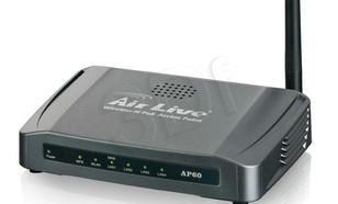 OVISLINK AirLive [ AP60 ] Router High Power 802.11n