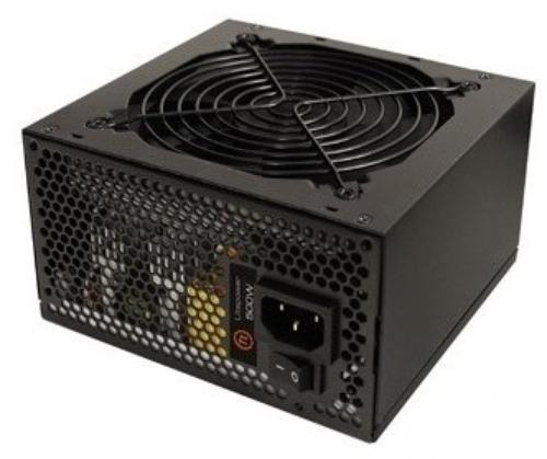 Thermaltake Litepower Black 600W (Active PFC, 2xPEG, 120mm, Single Rail)