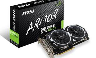 MSI GeForce GTX 1070 Ti ARMOR 8GB DDR5 256bit