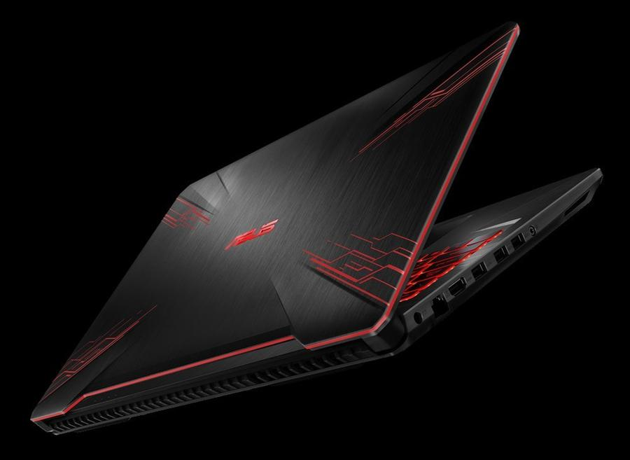 ASUS TUF Gaming FX504GM porty