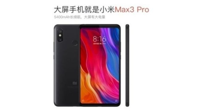 Wyciekła specyfikacja Xiaomi Mi Max 3 Pro - Jest grubo