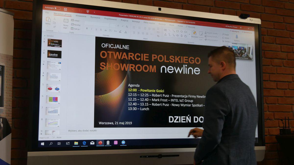 prezentacja monitorów newline