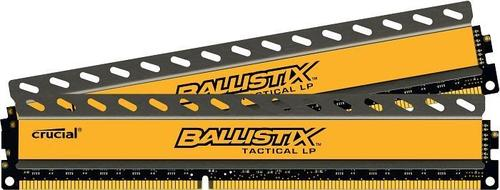 Crucial DDR3 Ballistix Tactical 16GB(2*8GB) Low Profile Low Voltage CL8