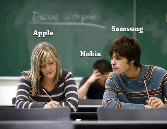 apple samsung nokia