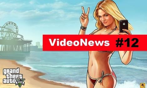 VideoNews #12 - Grand Theft Auto V na PC i nie tylko