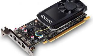 PNY Technologies NVIDIA Quadro P1000, 4GB GDDR5 (128 Bit), 4x miniDP (VCQP1000-PB)