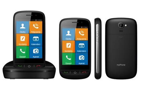 myPhone HALO X - Hybryda Telefonu ze Smartfonem