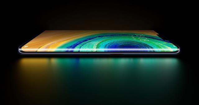 Mate 30 posiada Horizon Display z zagięciem 88 stopni