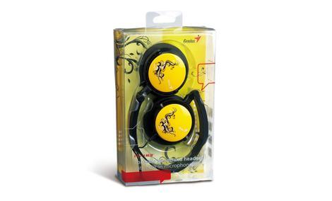Genius HS-410F - słuchawki przyciągające wzrok.